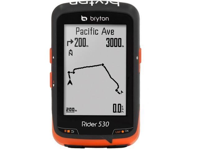 Bryton Rider 530E - Sistemas de navegación - negro